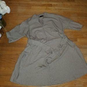 Eloquii LIKE NEW plaid dress 24